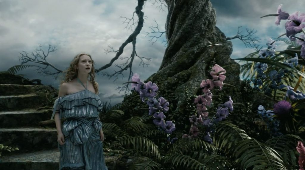 Alice in Wonderland - Tim Burton's 2010 film