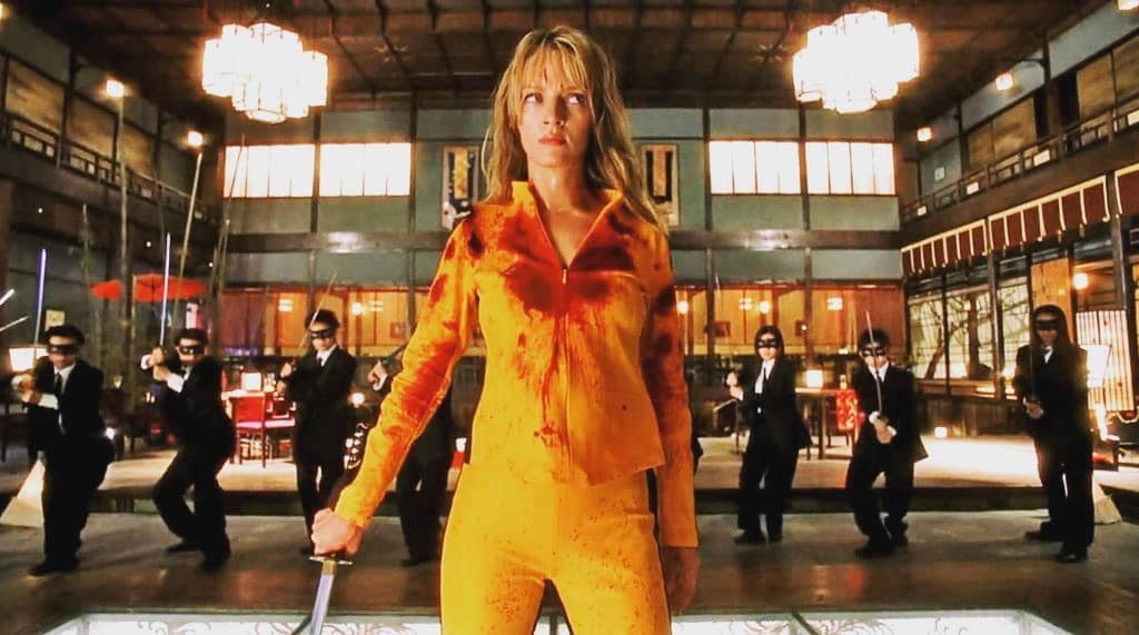 Kill Bill, directed by Quentin Tarantino, 2003