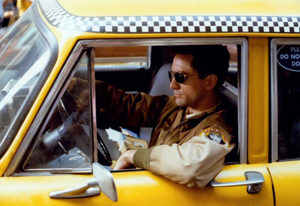 Taxi driver, directed by Martin Scorsese, 1976